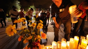 A massive candlelight vigil was held for victims of the Aurora Movie Theater Shooting.